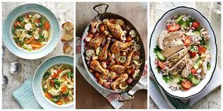 healthy meals foods and recipes tips food network lemon pepper 52 best chicken dinner recipes 2016 top easy dishes country living curtain design ideas