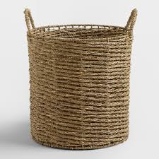trista seagrass tote basket world market
