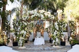 wedding arch leaves rustic vintage outdoor wedding in palm springs inside weddings