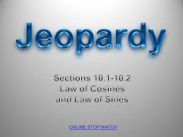 sections in law sections law of cosines and law of sines ppt video online download