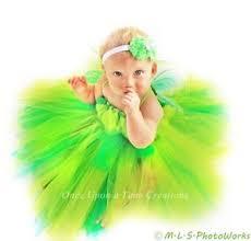 Pixie Halloween Costumes Baby Pixie Green Tutu Dress Newborn Baby 3 6 12 Fairy