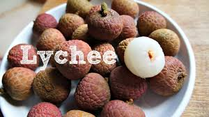 lychee fruit candy tasting lychee youtube