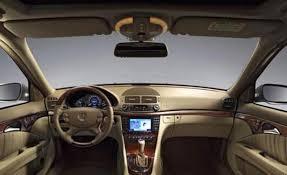 mercedes benz e class interior 2007 mercedes benz e class sedan news reviews msrp ratings