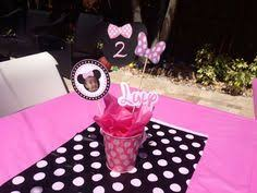 Centerpieces For Minnie Mouse Party by Minnie Mouse Decoration Ideas Candy Bar Candy Buffet Piñata