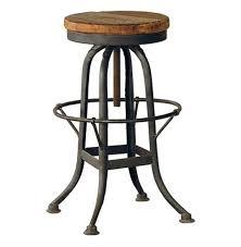iron bar stools iron counter stools oleg industrial loft iron base reclaimed wood bar counter stool