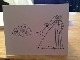 thank you card samples collection cute wedding thank you cards