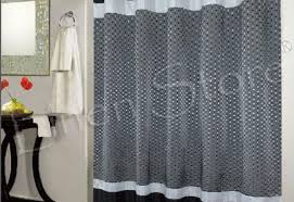 curtains amazing purple and black curtains lovely pattern on