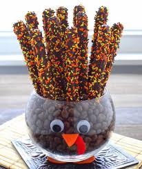 thanksgiving day centro de mesa dulce para día de acción de