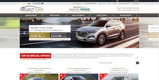 europe car leasing companies websites website design website development content management