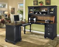 Black Home Office Furniture Diy Ikea Butcher Block Endearing Home Office Desks Ideas Home
