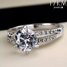 new jewelry rings images Wish romantic wedding elegant crystal zircon ring gold silver jpg