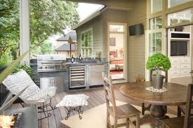 Patio Attached To The House 25 Of The Most Gorgeous Outdoor Kitchens Brit Co