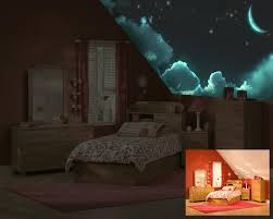 Glow In The Dark Home Decor Glow In The Dark Children U0027s Murals Luminous Art By Izzyarts It