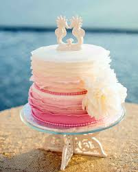 ombré wedding cakes martha stewart weddings