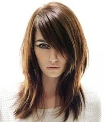 differnt styles to cut hair side swept thick sweeping flattering bangs hairstyle womenitems com