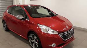 peugeot 208 red peugeot 208 thp gti youtube