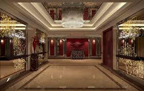 hotel corridor lighting and wall design chinese style hotel