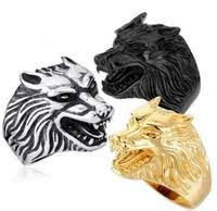 wolf wedding rings wholesale wolf wedding rings buy cheap wolf wedding rings from