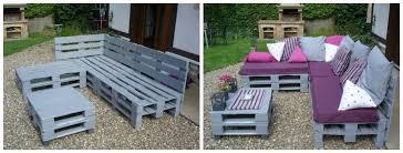canapé exterieur palette 5 projets en palette pour le jardin
