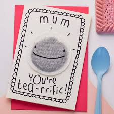 Mother S Day Greeting Card Handmade Tea Rrific U0027 Mother U0027s Day Card By Tee And Toast