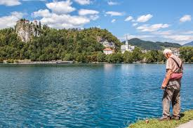 Slovenia Lake Camping Lake Bled Slovenia Europe By Camper Travelling