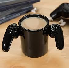 amazon com bigmouth inc game over ceramic mug black coffee