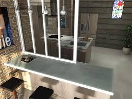 cuisine et bar ilot et plan de bar en béton balian beton atelier