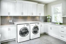 White Laundry Room Cabinets Laundry Room Cupboards Modern Laundry Room Ideas With Custom