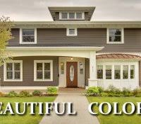 ranch home exterior remodel before and after how to choose paint