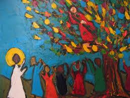 zacchaeus bible art church in america of zacchaeus jesus and