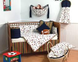 Sport Crib Bedding Football Nursery Etsy