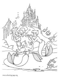 beautiful mermaid coloring pages 110 best color ariel images on pinterest coloring