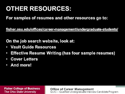 Sample Resume For Undergraduate Students by Qualified Undergraduate Interview Candidate Quic Ppt Download