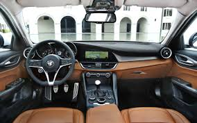 luxury cars inside alfa romeo giulia interior inside the alfa romeo stelvio