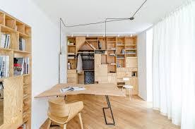 Attic Work Space Alluring 80 Plywood Apartment 2017 Inspiration Design Of Studio