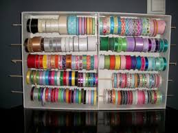 Home Decorators Collection 10 Coupon Chic Somethings Diy Craft Ribbon Storage Rack For Only 10