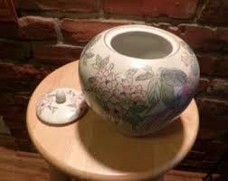 Toyo Vase Vase With Lid Etsy