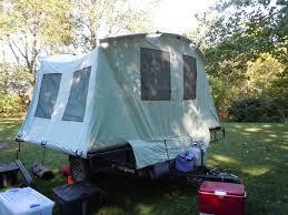 jumping tent trailer adventure as a family