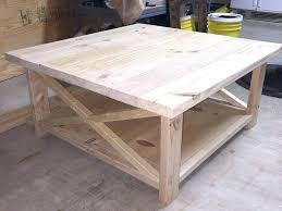 Rustic Coffee Table On Wheels Rustic X Coffee Table Build Your Own Rustic Coffee Table Best