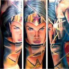 21 wonder woman awesome tattoos inked magazine part 8