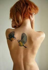 shoulder blade tattoo birds tattoo u0026 piercing mania