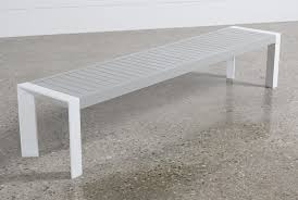 biscayne outdoor dining bench living spaces
