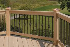 advantages wrought iron deck railing u2014 new decoration