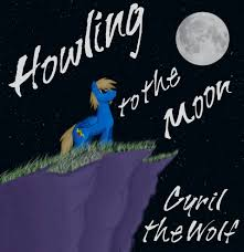 howling to the moon cyril the wolf