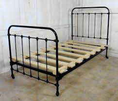 Vintage Metal Bed Frame How To Paint A Vintage Iron Bed Modern Wall Sconces And Bed Ideas