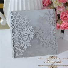 snowflake wedding invitations snowflake christmas invitations laser cut 12pcs winter wedding