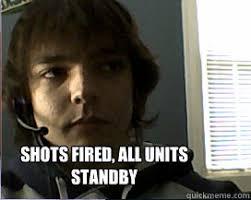Shots Fired Meme - shots fired nerd memes quickmeme