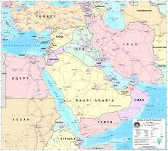 Iraq Map World by Large Detailed Middle East Graphic Map With All Air Force Bases