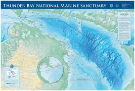 florida shipwrecks map thunder bay national marine sanctuary expansion