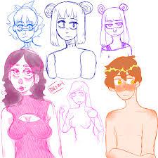 sketches by aesthetic deer on deviantart